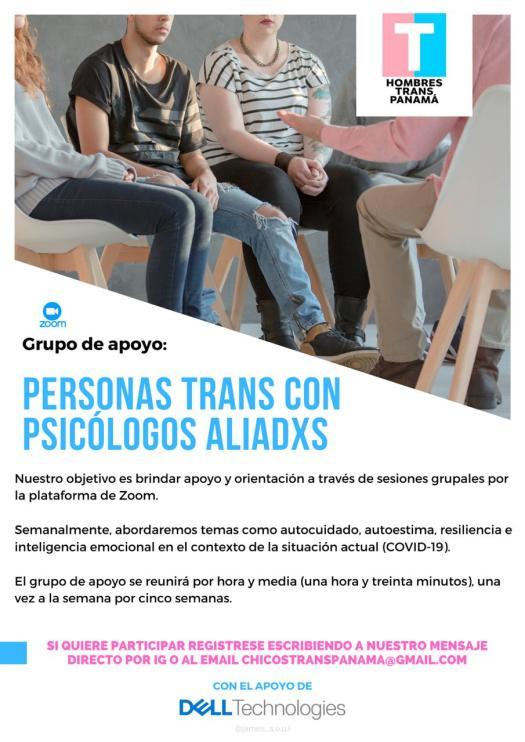 Personas trans con psicologos aliadxs